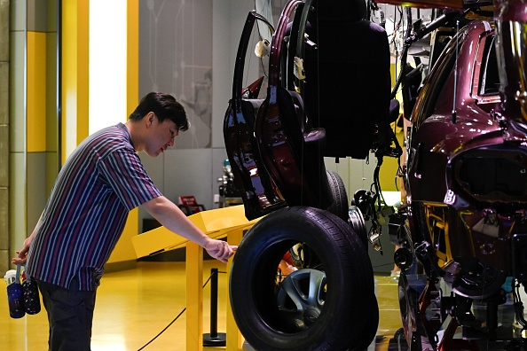 Chinese car sales suffer steepest ever annual decline