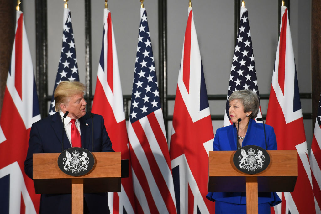 Trump: NHS up for grabs in free trade deal