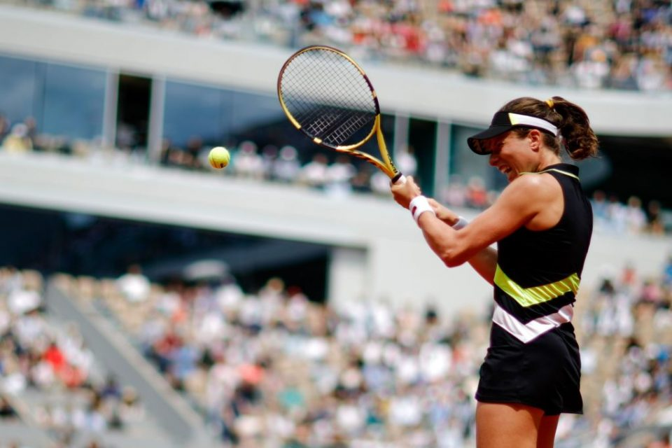 Johanna Konta flew to victory in just 1 hour and 11 minutes on Tuesday