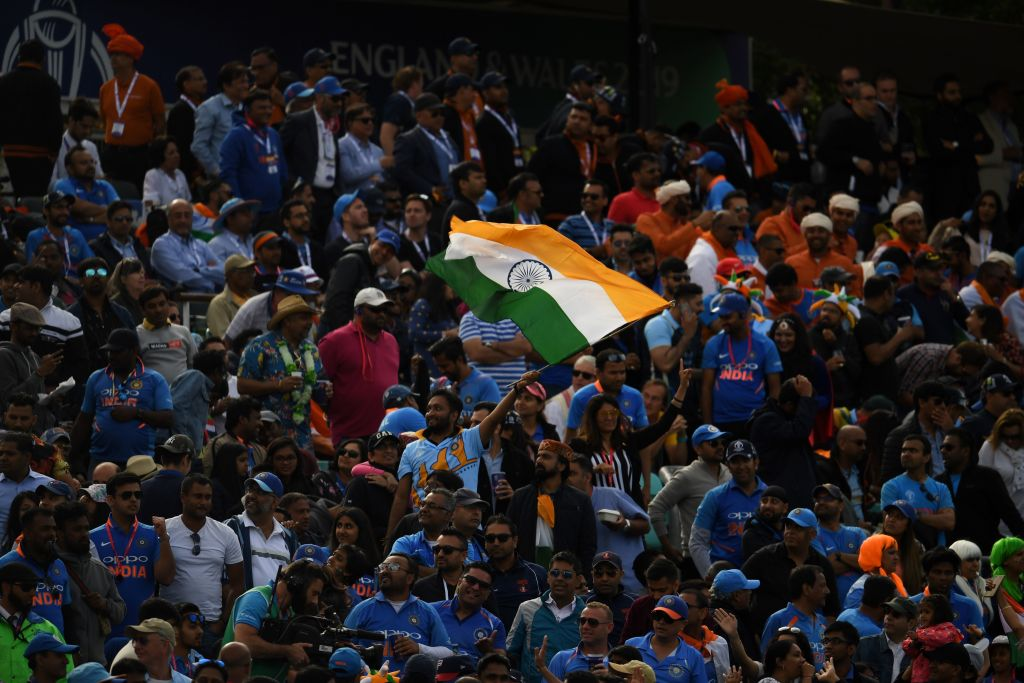 India's fans make themselves at home during Australia win