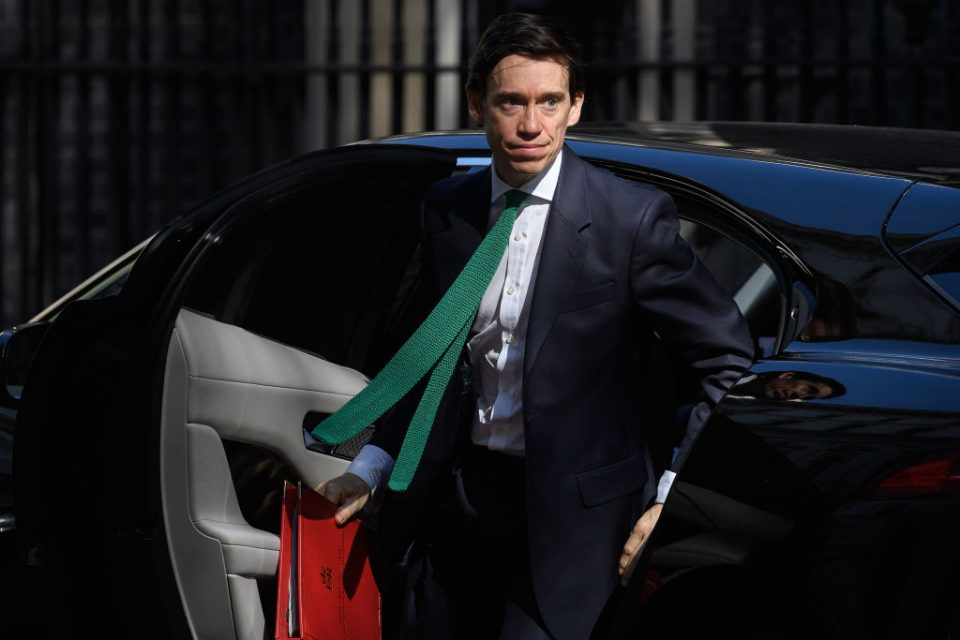 Tory MP Rory Stewart and Sam Gyimah were caught fighting in Westminster today as the race to replace Prime Minister Theresa May heats up