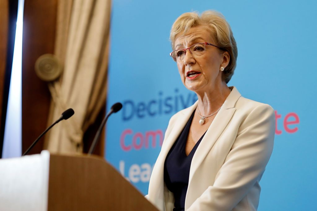 Andrea Leadsom has said she is backing Boris Johnson's bid to be Prime Minister
