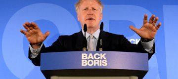 Boris Johnson is the frontrunner in the Tory leadership race
