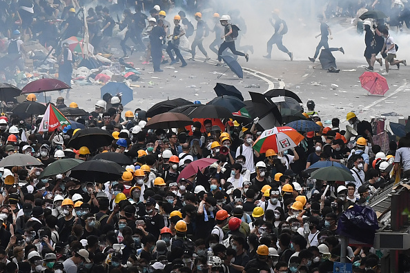 Hong Kong leader suspends extradition bill after mass protests