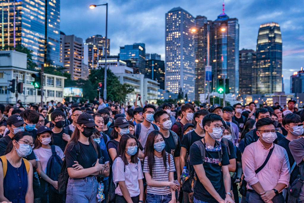 If Hong Kong can face down the Chinese bullies, there is hope for the rest of the world