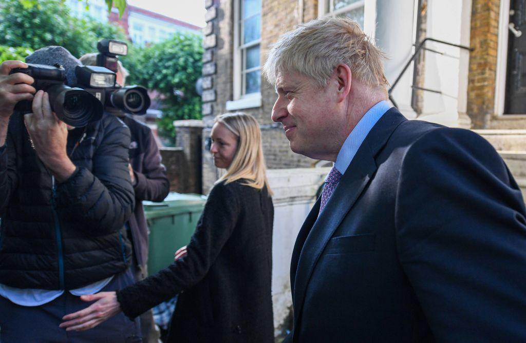 Boris Johnson is leading the contest so far
