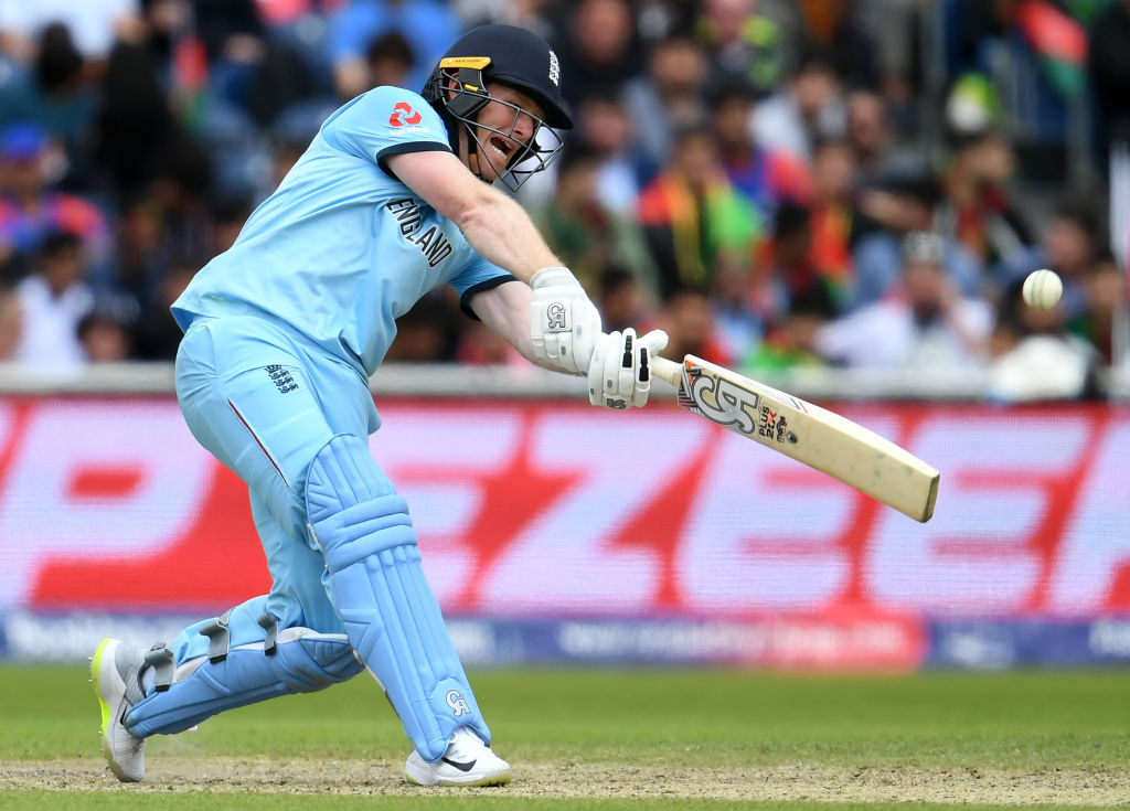 Eoin Morgan makes a mockery of a bad back to smash astonishing century in World Cup win over Afghanistan