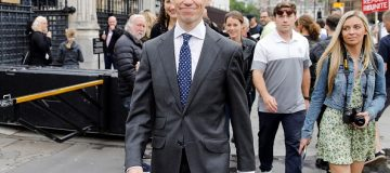 Britain's International Development Secretary Rory Stewart, a former contender in the battle for leader of the Conservative Party, is seen at the Houses of Parliament in London on June 20, 2019. - Conservative MPs will decide on June 20 who will join Boris Johnson in the final two battling become Britain's next prime minister, with three contenders jostling for the second spot. (Photo by ToLocal Government Association AKMEN / AFP) (Photo credit should read TOLocal Government Association AKMEN/AFP/Getty Images)
