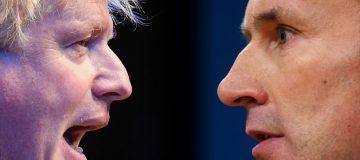 Tory leadership race: Boris Johnson takes on Jeremy Hunt