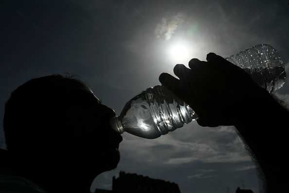 Met Office has issued a Level 2 heat warning and advised public to drink plenty of water