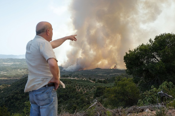 Catalonia is experience the worst wildfires it has seen for 20 years