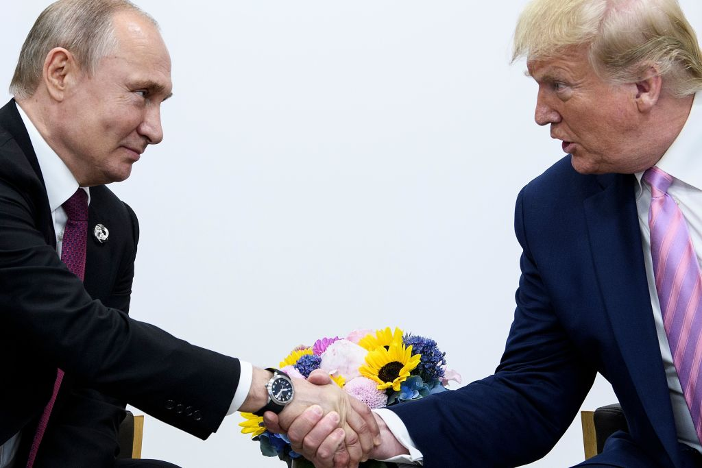 Trump jokes to Putin at G20: 'Don't meddle in the election, please'