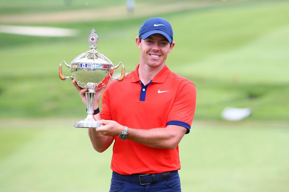 Rory McIlroy claimed the Canadian Open last weekend