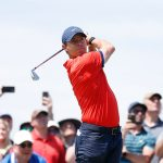HAMILTON, ONTARIO - JUNE 09: Rory McIlroy of Northern Ireland plays his shot from the third tee during the final round of the RBC Canadian Open at Hamilton Golf and Country Club on June 09, 2019 in Hamilton, Canada. (Photo by Michael Reaves/Getty Images)