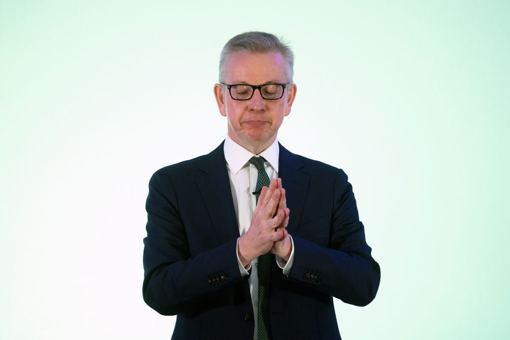Michael Gove has come back before and he can do it again