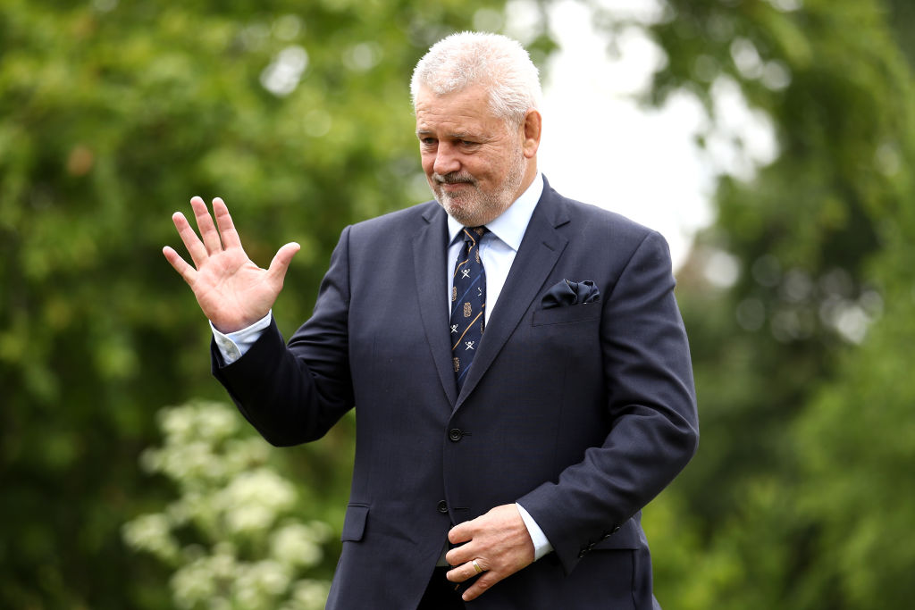 Warren Gatland claims he has 'unfinished business' with the British and Irish Lions following South Africa 2021 appointment