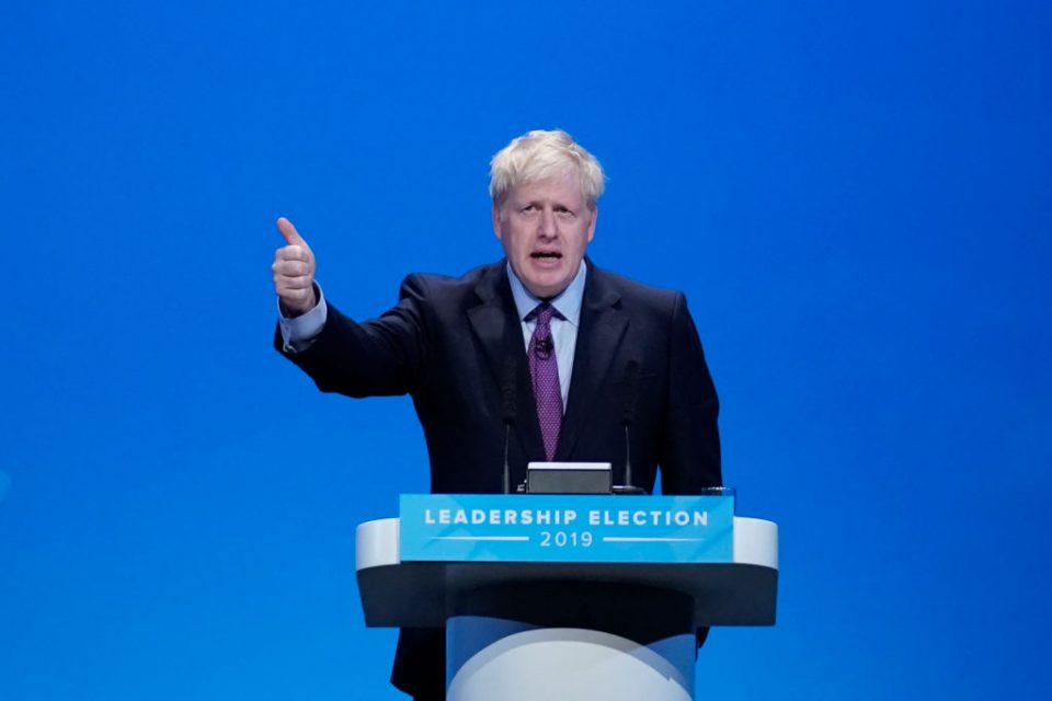 Boris Johnson says he plans to negotiate a free trade deal with the EU if he wins the Tory leadership election