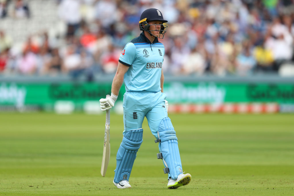 Eoin Morgan admits England are 'struggling with the basics' at the Cricket World Cup after damaging Australia defeat