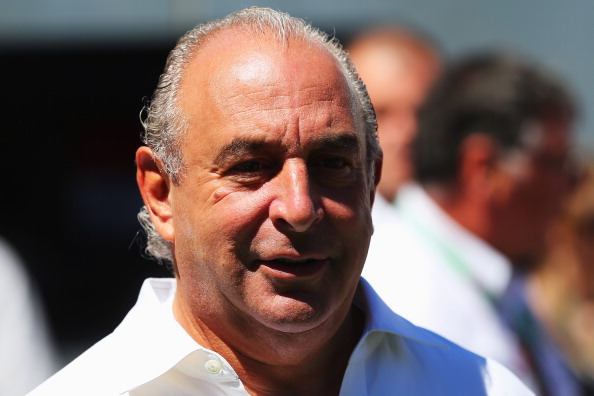 Sir Philip Green's Arcadia group includes brands such as Topshop and Dorothy Perkins