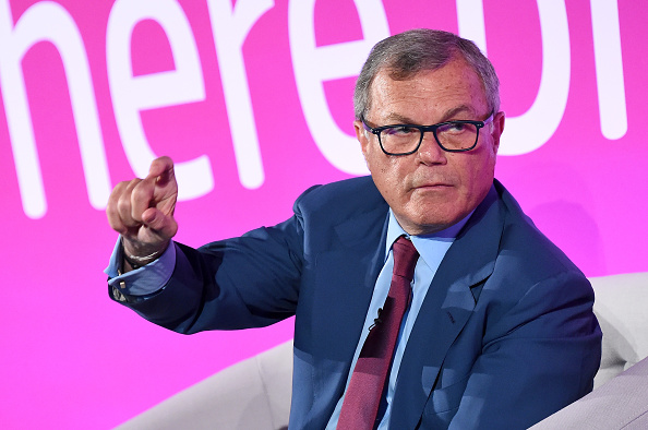 """LONDON, ENGLAND - APRIL 18: Sir Martin Sorrell speaks during """"A Conversation with..."""" on the ITV stage during Advertising Week Europe 2016 at Picturehouse Central on April 18, 2016 in London, England. (Photo by Eamonn M. McCormack/Getty Images for Advertising Week Europe)"""