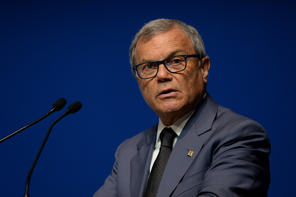 LAUSANNE, SWITZERLAND - APRIL 20 : Sir Martin Sorrell CEO, WPP addresses the Digital Summit programme during the fourth day of the SportAccord Convention at the SwissTech Convention Centre on April 20, 2016 in Lausanne, Switzerland. (Photo by Mark Runnacles/Getty Images)