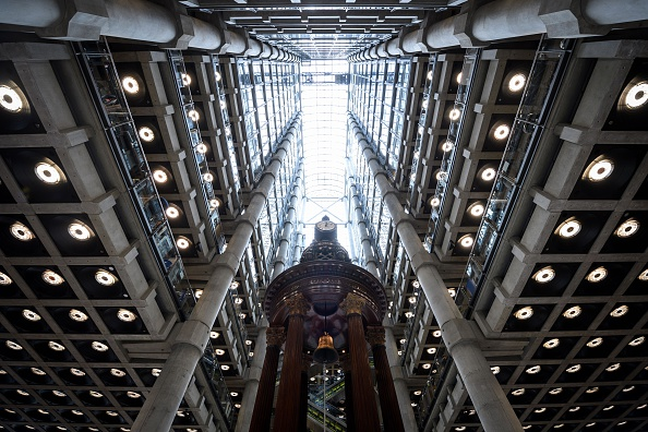 "The interior of Lloyd's of London, the centuries-old insurance market, is pitctured in central London on April 27, 2016. Lloyd's argued on March 23, 2016, that Britain's continued EU membership would be the ""better outcome"" for the group in the looming June referendum. Lloyd's, which made the comments in its annual report alongside news of tumbling 2015 profits, added that it was making contingency plans for a so-called Brexit. / AFP / LEON NEAL (Photo credit should read LEON NEAL/AFP/Getty Images)"