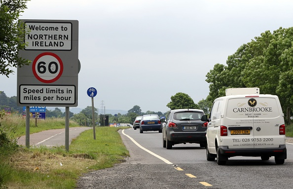 Currently there are no checks along the Irish border but this could change after Brexit