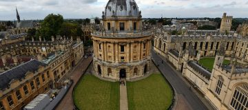 Oxford is home to Britain's oldest university