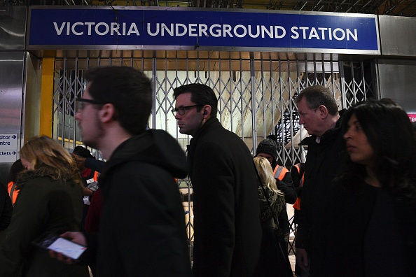 Victoria station evacuated after fire alert