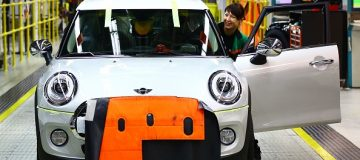 UK car plants such as the Oxford Mini factory closed down in April to mitigate the effects of an expected no-deal Brexit