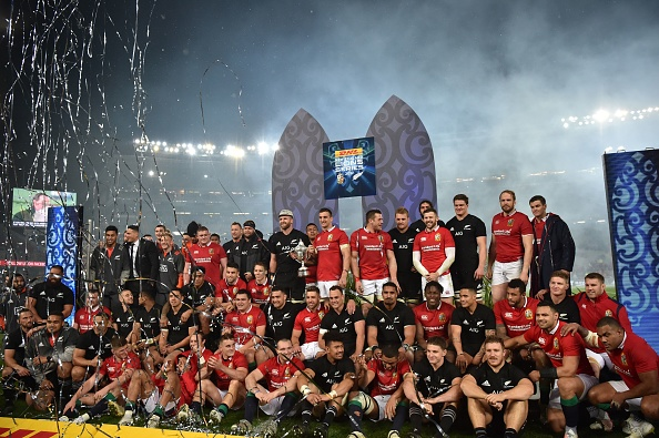 The Lions tour of New Zealand in 2017 ended in a tie after three Tests, with both sides sharing the trophy