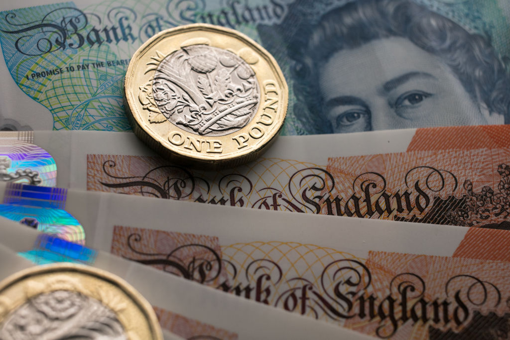 Sterling GDP pound
