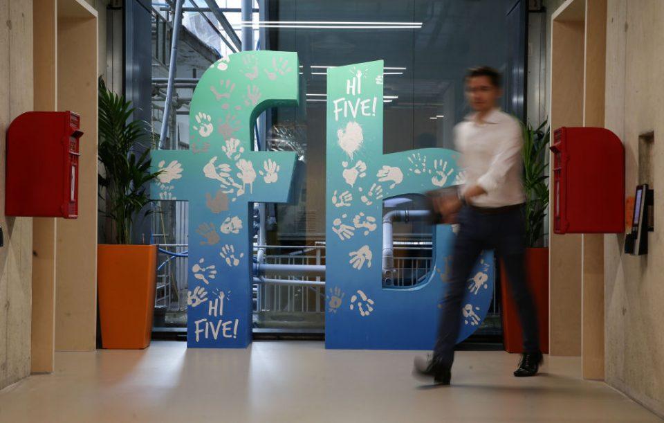 FACEBOOK LONDON OFFICE TECH