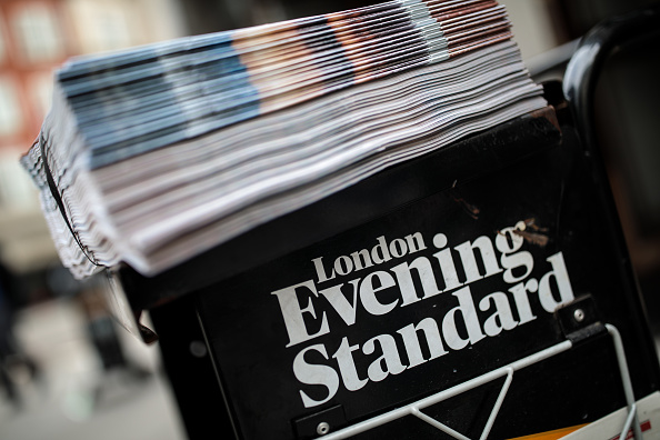 Evening Standard posts £11.6m loss as it battles with advertising squeeze