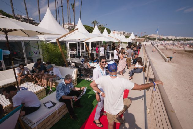CANNES, FRANCE - JUNE 18: General view of atmosphere during the Happy Hour co-hosted by Taboola and Double Verify at Cannes Lions on June 18, 2018 in Cannes, France. (Photo by Francois Durand/Getty Images for Taboola)