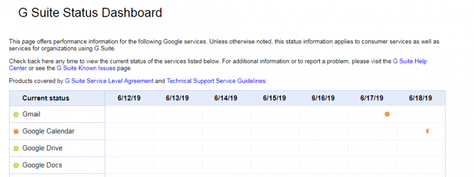 Google Calendar down: Worldwide outage hits users