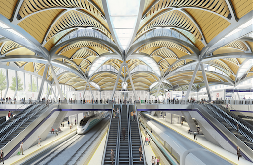 A look at the HS2 station design for Euston