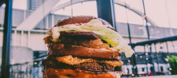 Biff's Jack Shack review: Unapologetically filthy vegan burgers