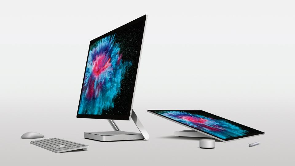 The Microsoft Surface Studio 2