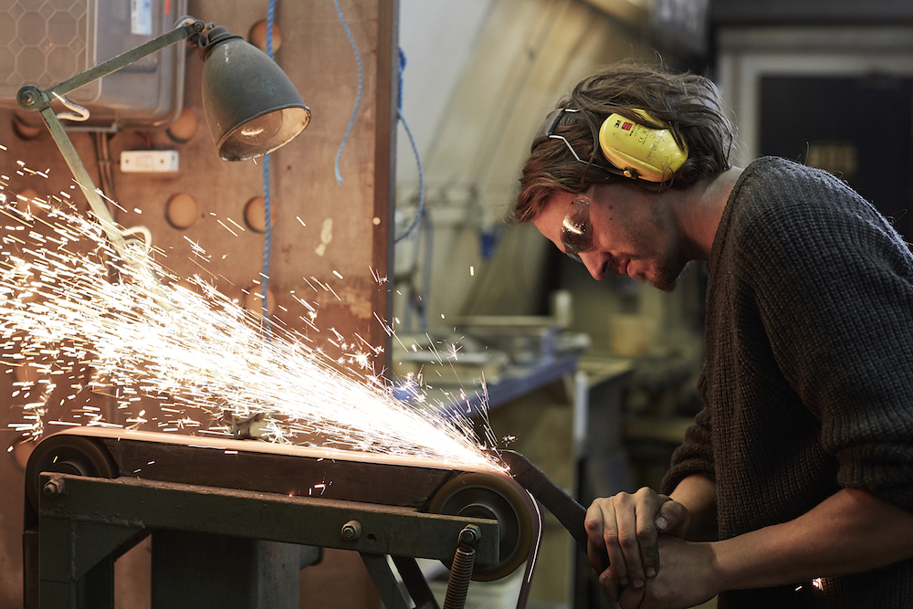 Meet the knife-makers of Blenheim Forge