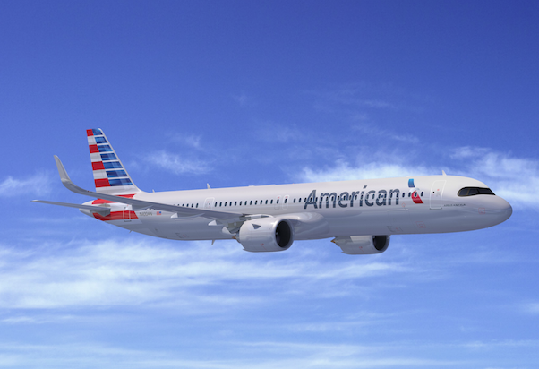 American Airlines picks up 50 Airbus A321XLR models