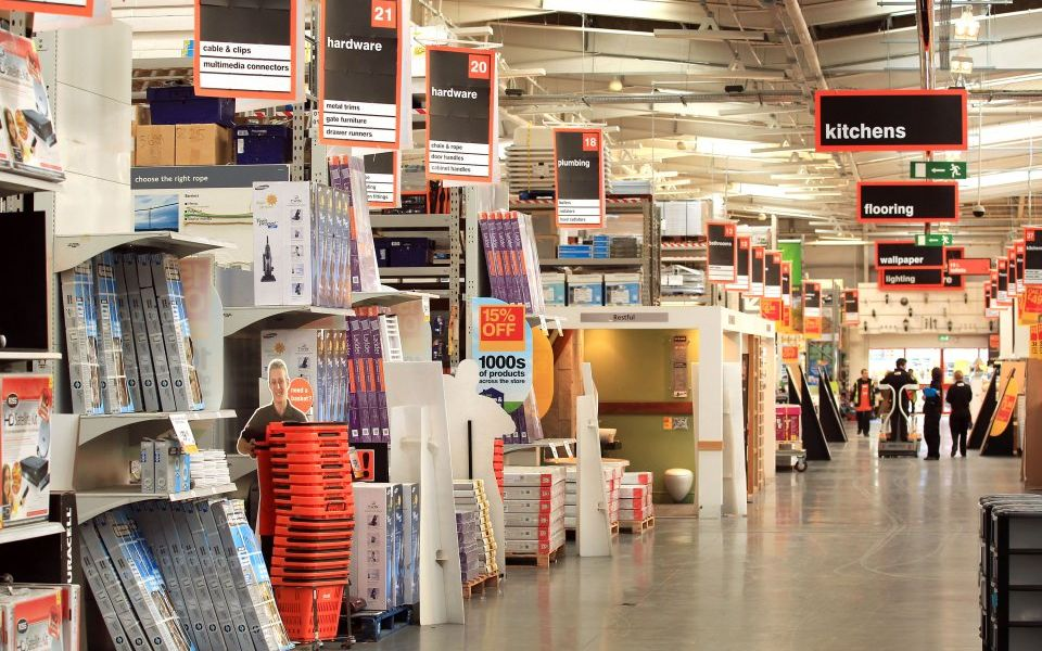 B&Q owner Kingfisher sales tick upwards ahead of CEO's departure