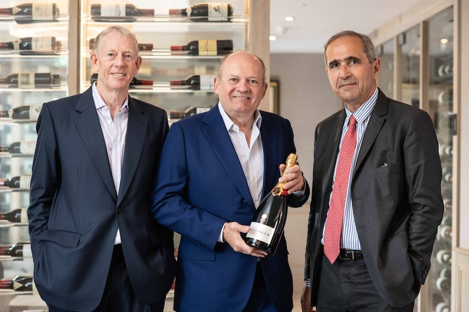 Toasting a deal: Bollinger takes stake in wine merchant backed by Michael Spencer