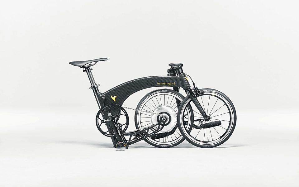 Hummingbird Electric Folding Bike