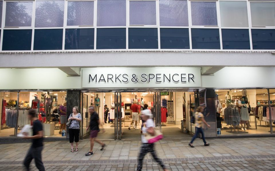 Marks & Spencer shares fall as profits decimated amid restructuring efforts