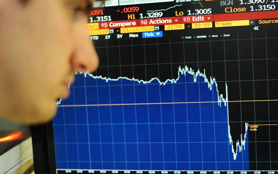 Pound stumbles towards biggest monthly fall in two years