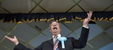Nigel Farage's Brexit party on track to destroy Tories with 37 per cent of EU elections vote
