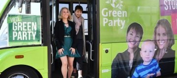 The extremist Green party is trying to overthrow capitalism