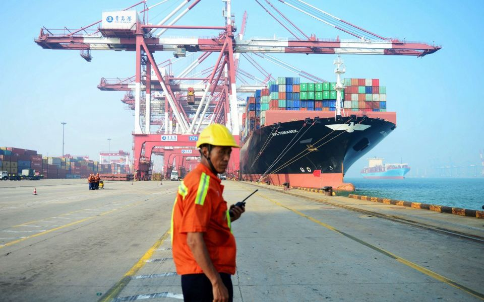 Chinese exports unexpectedly fall as pressure builds to reach trade deal with US