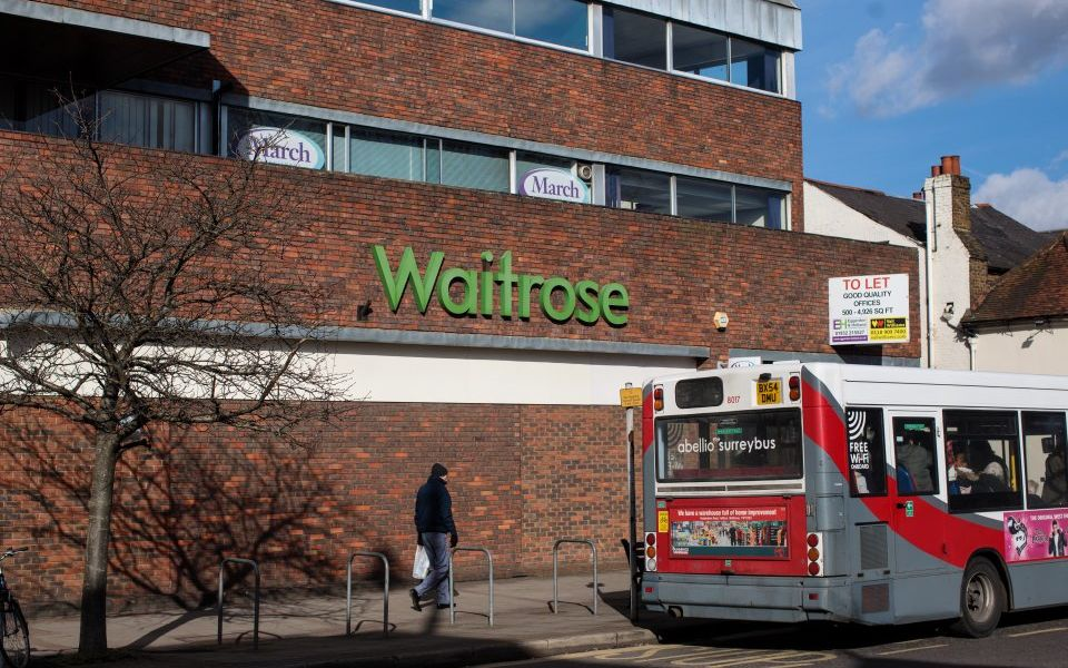 Waitrose sets out £1bn online shopping plan as it prepares for life without Ocado